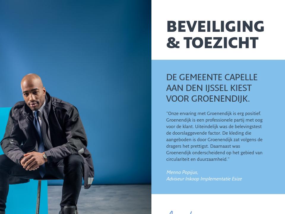 Van den IJssel | Bedrijfskleding beveiliging